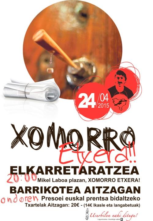 Xomorro Etxera A3