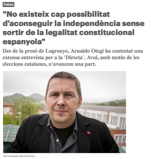Arnaldo Otegi Directa