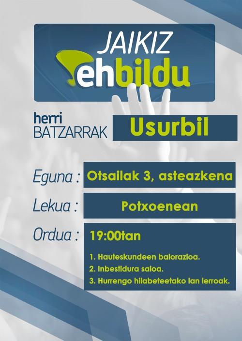 Batzarra Usurbil 2016