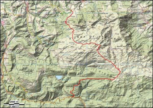 Andatza mapa