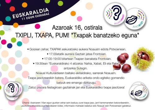 Euskaraldia A16