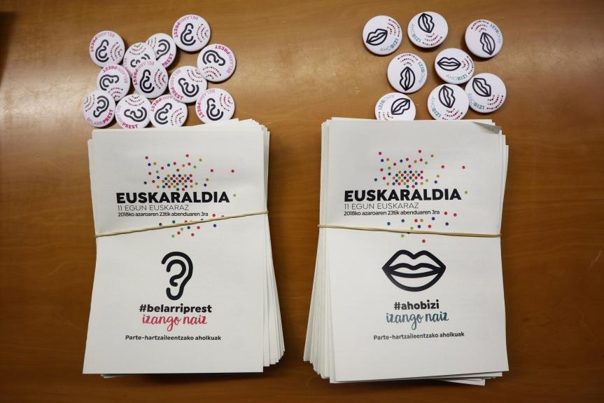 Euskaraldia materiala