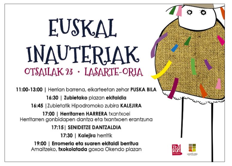 Inauteriak Zubieta Lasarte2019