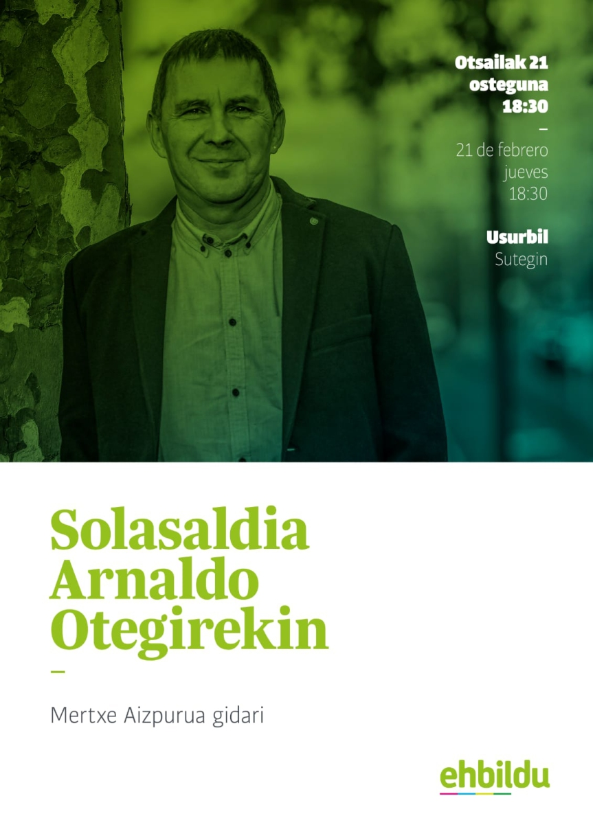UsurbilEHBildu-Arnaldo Otegi