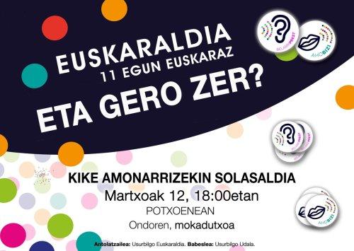 M12 Euskaraldia Usurbil