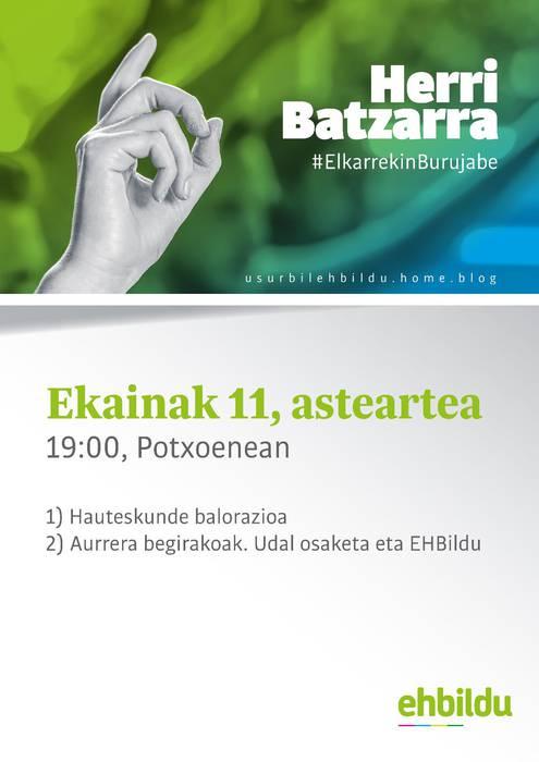 E11 EHBildu Usurbil