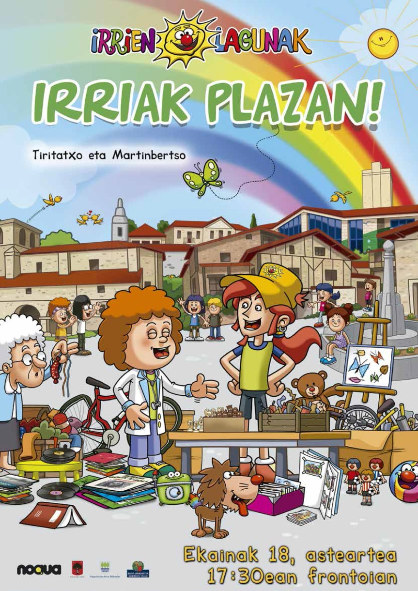 Irriak plazan 2019