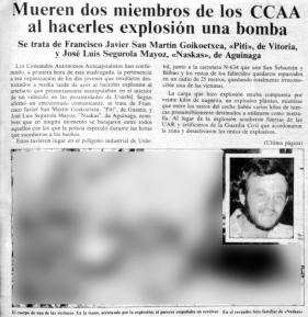 Egin1, 1983ko abuztuak 14-16