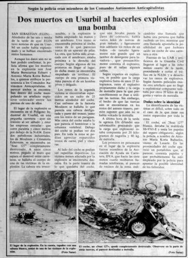 Egin2, 1983ko abuztuak 14-16