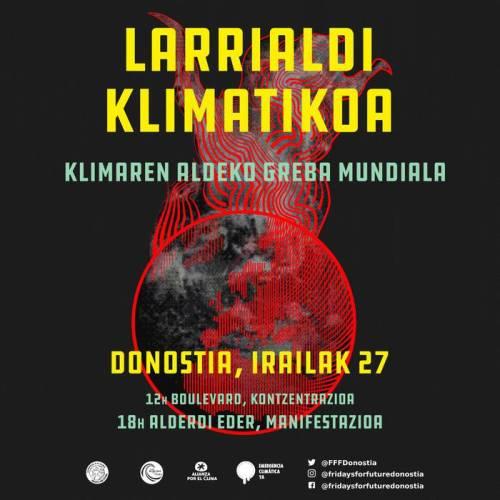 I27-Larrialdi klimatikoa mobilizazioak