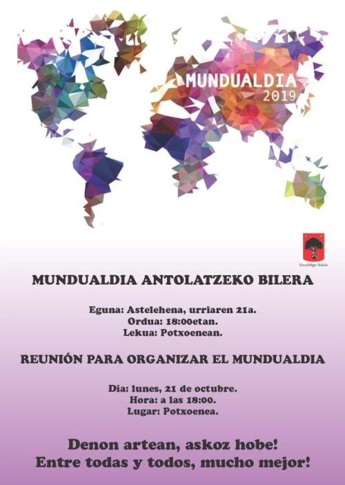 Mundualdia 2019 bilera