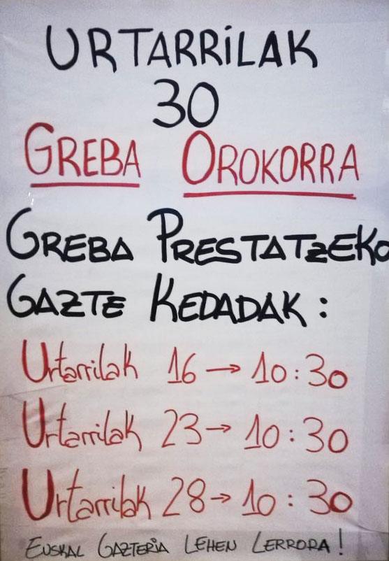 Greba orokorra-Ernai Usurbil