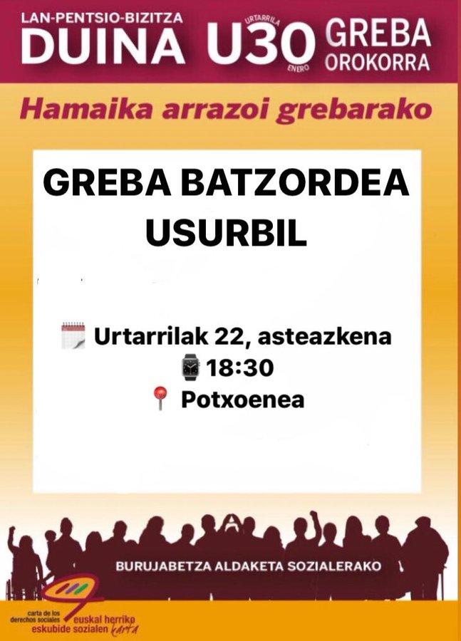 Greba orokorra-U22