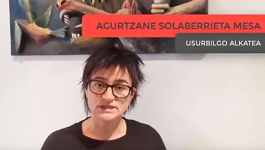 Agurtzane Solaberrieta-Koronabirusa